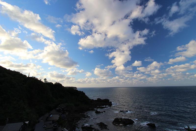 聖域の岬からの景色