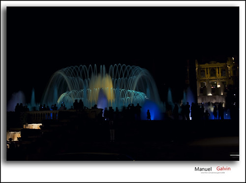 La Fuente Mágica de Montjuïc by galvin2008