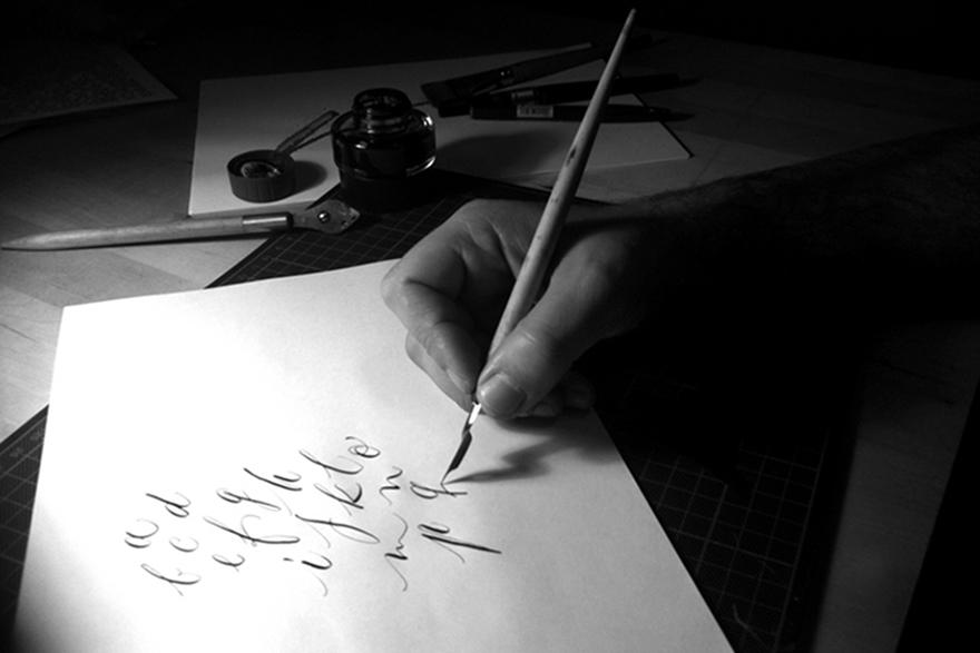 Lettering vs Calligraphy Giuseppe Salerno