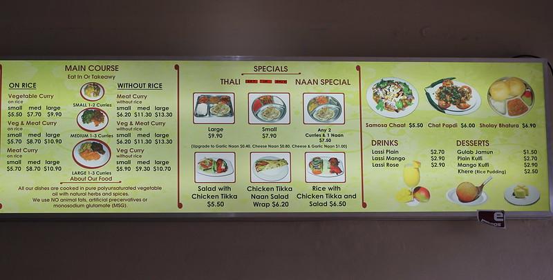 Hothis menu