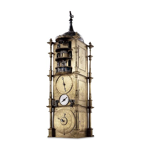 007- Reloj Carillón con autómatas por Isaac Habrecht-© Trustees of the British Museum