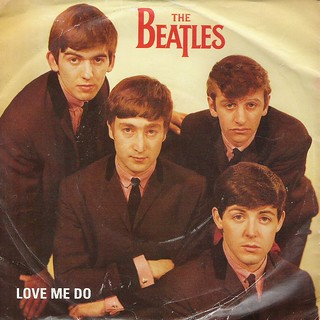 45 RPM - THE BEATLES - A) Love Me Do - B) - (PARLOPHONE RECORDS)