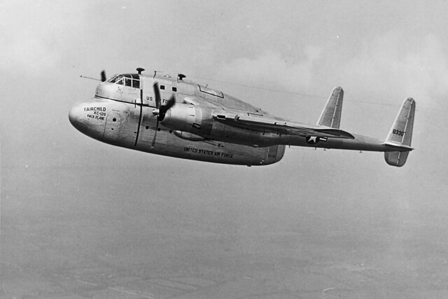 Fairchild XC-120 Packplane s/n 48-0330