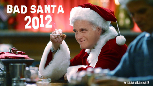 BAD SANTA 2012 by Colonel Flick/WilliamBanzai7