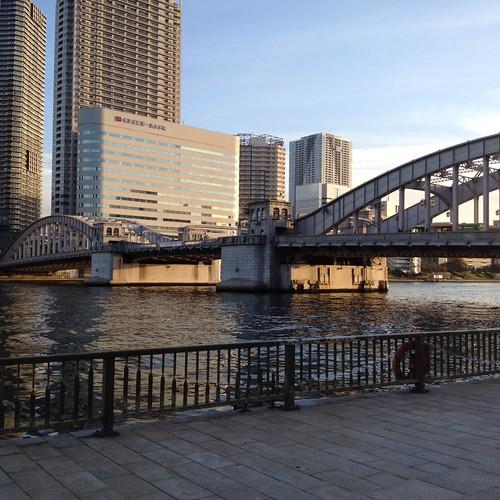 勝鬨橋 by haruhiko_iyota