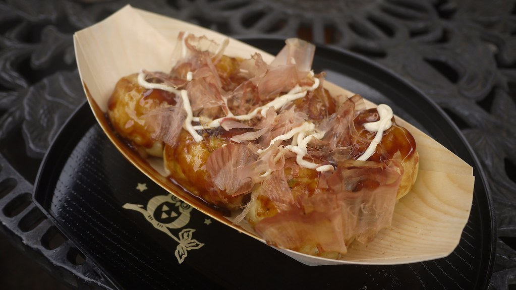Squid Takoyaki