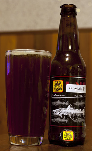 Review: Paddock Wood Oaky Loki DIPA (Barrel aged) by Cody La Bière