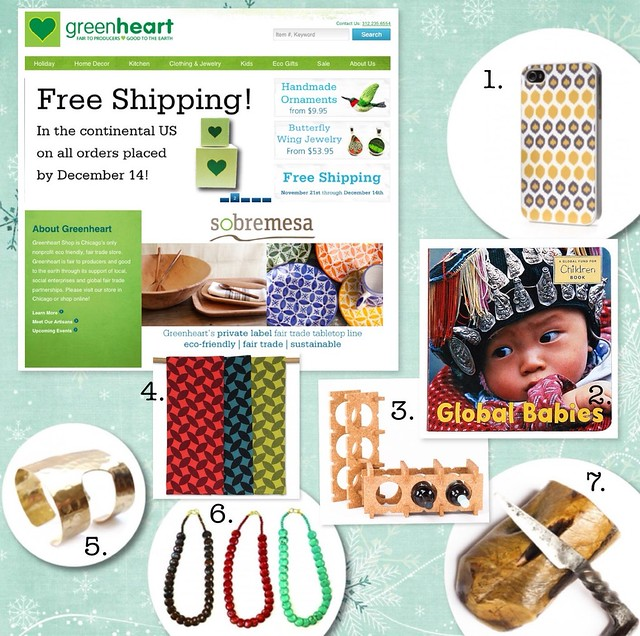GreenHeart - Shopping for Ethical Holiday Gifts