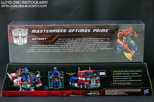 Masterpiece Optimus Prime