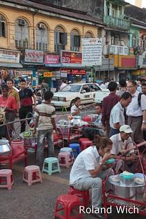Yangon - Street Scene