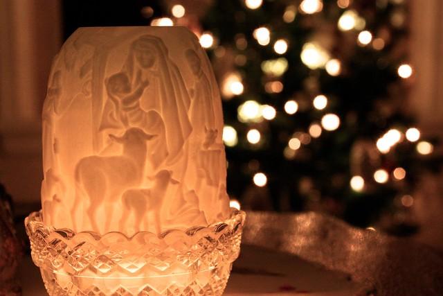 Christmas Candle Lantern