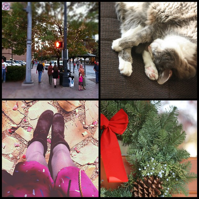 december collage (lately)