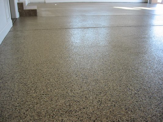 Commercial epoxy concrete floor coatings portland or for Concrete floor covering