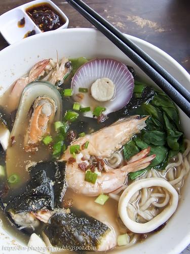 seafood la mian noodle, siew kee dim sum sungai buloh R0020089 copy