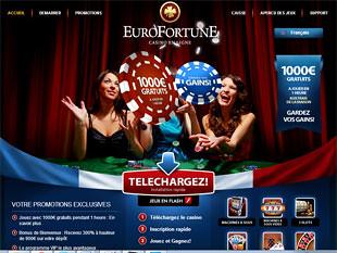 Euro Fortune Casino Home