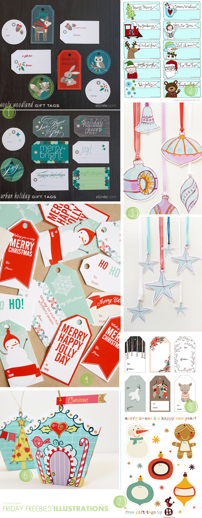 {friday freebies} big Christmas round-up
