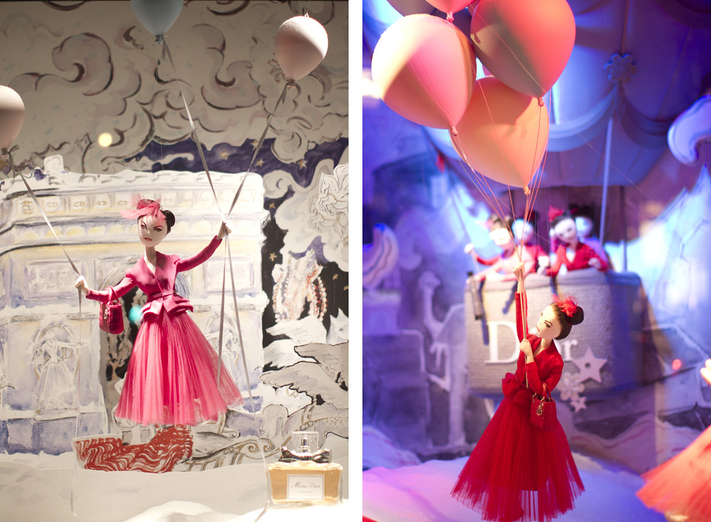 Printemps Christmas Windows 14
