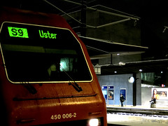 S9 at the Zug train station