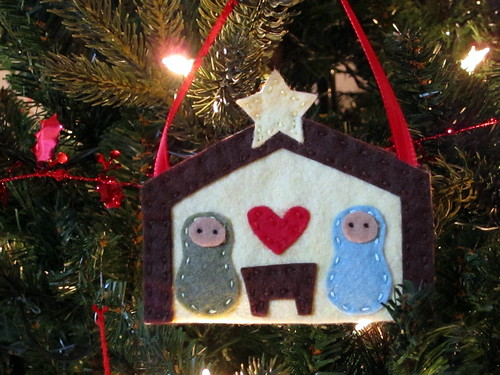 December Ornament: Nativity