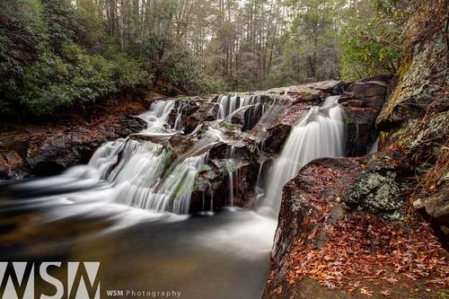 longexposure nature water creek georgia landscape waterfall wideangle falls dicks hdr northgeorgia dickscreek photomatix