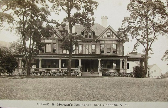 K E Morgan Residence eonta New York vicinity [post card 3]