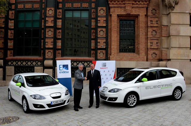 SEAT Altea XL Electric Ecomotive & SEAT León TwinDrive Ecomotive