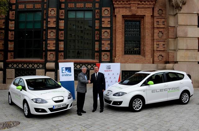 SEAT Altea XL Electric Ecomotive & SEAT León TwinDrive Ecomotive