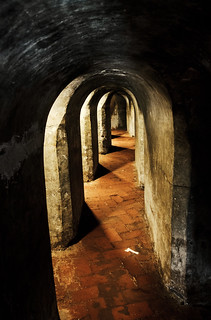 Image of Castillo San Felipe de Barajas near Cartagena. colombia manga tunnel bolívar caribbean fortress cartagena col cartagenadeindias sanfelipebarajascastle castillodesanbarajas nellumazilu
