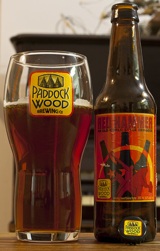 Paddock Wood Red Hammer (Old World Style Red) 12/24 by Cody La Bière