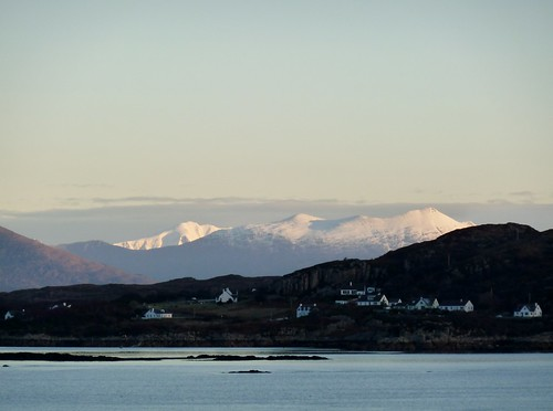 Wester Ross, Scotland from Isle of Skye