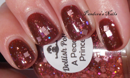 Contrary Polish Firebrand and Dollish Polish A Peachy Princess 1