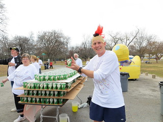 DRC Aid Station at the 2012 Dallas Marathon