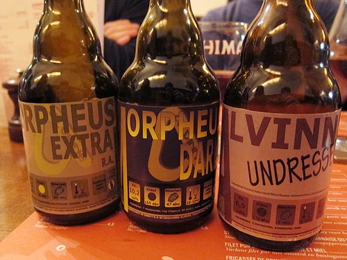 some of our favorite beers on the trip