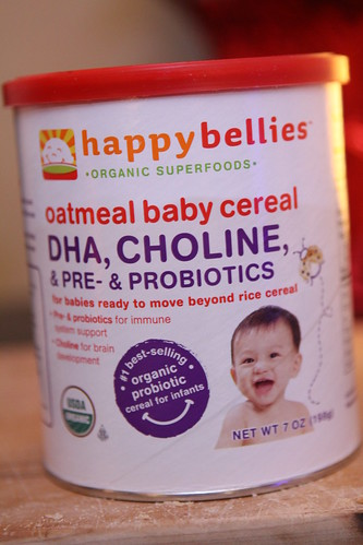 Happybellies Oatmeal Baby Cereal