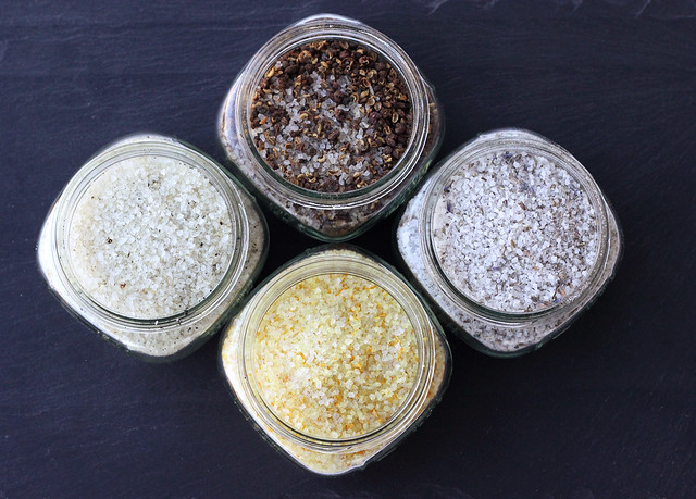 Flavored Finishing Sea Salts