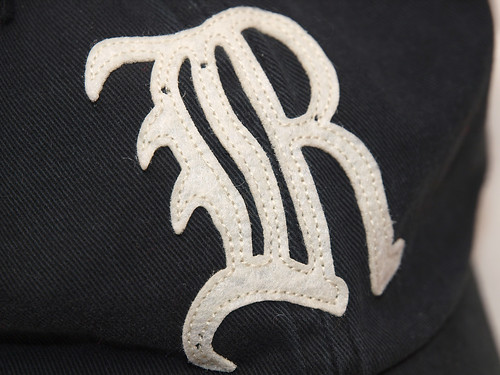"Rugby / Gothic ""R"" Cap"