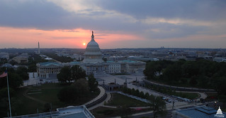 Spring Sunset at the Capitol