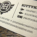 Kittyhawk Creative detail by Stumptown Printers