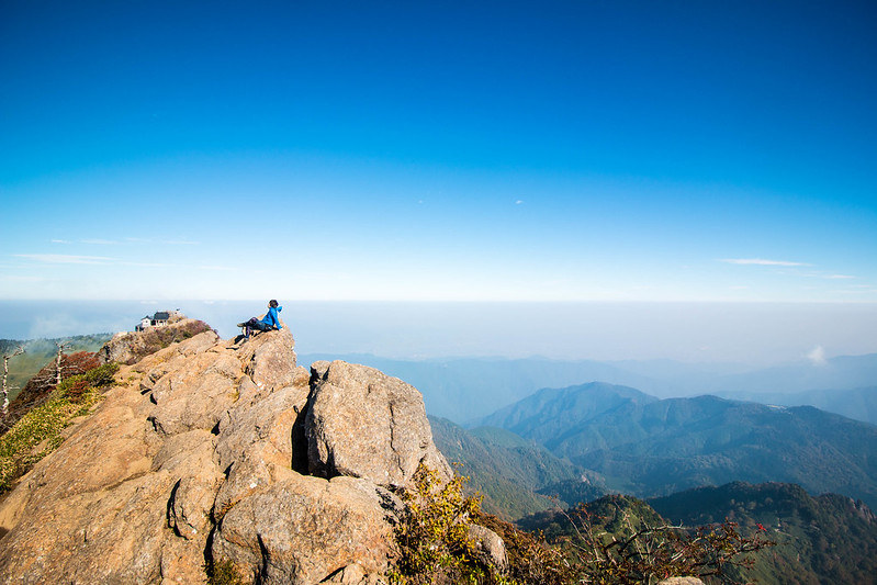 石鎚山の山頂