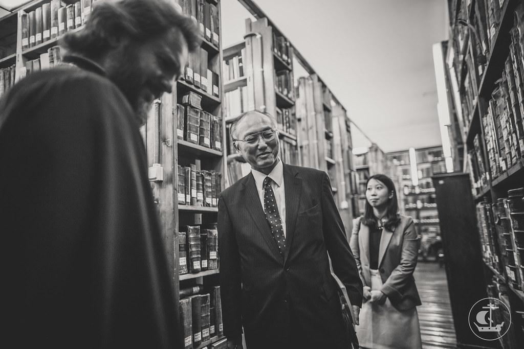 7 сентября 2016, Визит Генерального консула Японии в Духовную Академию / 7 September 2016, The visit of Consul-General of Japan in Saint Petersburg to Theological Academy