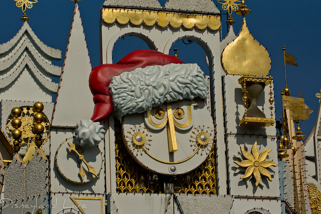 """it's a small world"" holiday installation - 2012"