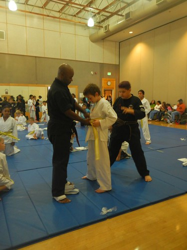 K's First Belt Ceremony