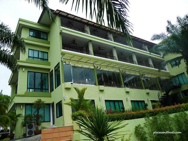 palm paradise resort main building