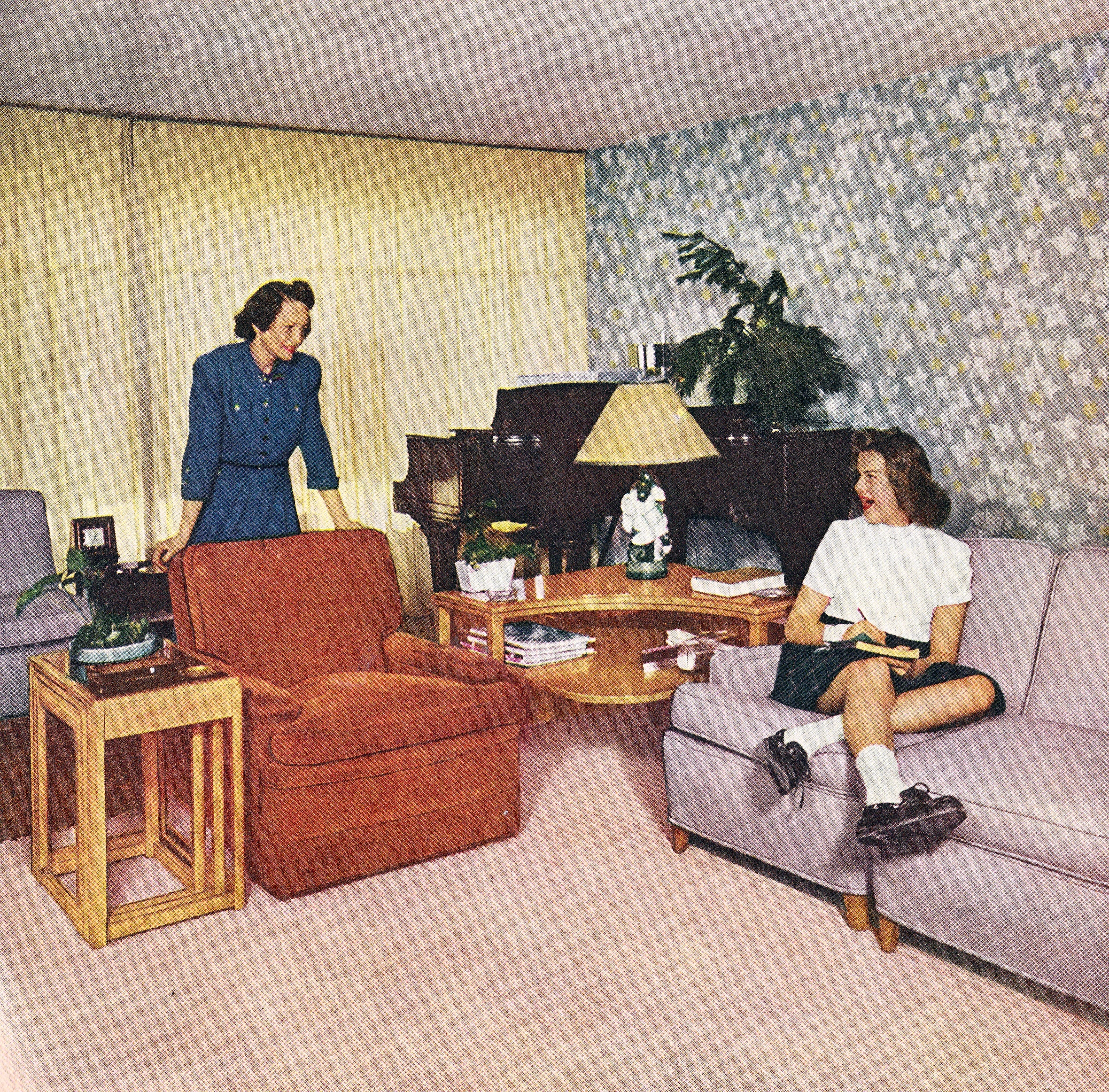 Mom Tells Daughter Dirty Jokes in Dismal Living Room | Flickr