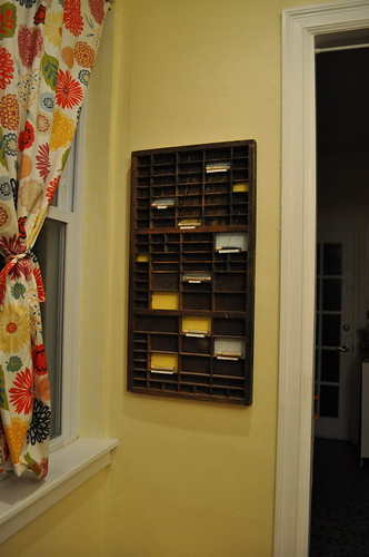 letterpress display case
