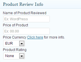 Author Product Review