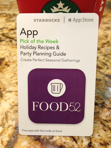 Starbucks iTunes Pick of the Week - Holiday Recipes & Party Planning Guide