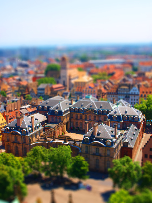 Tilt-shift photography inspiration from Davis Gerber
