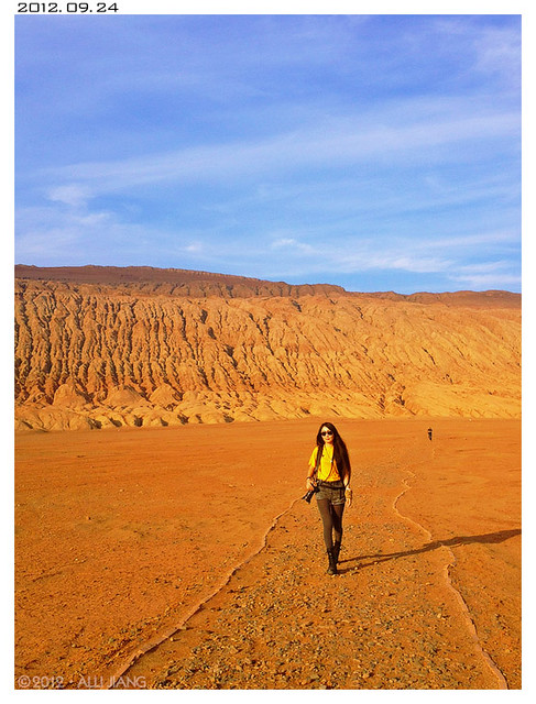 alli at the flaming mountains.