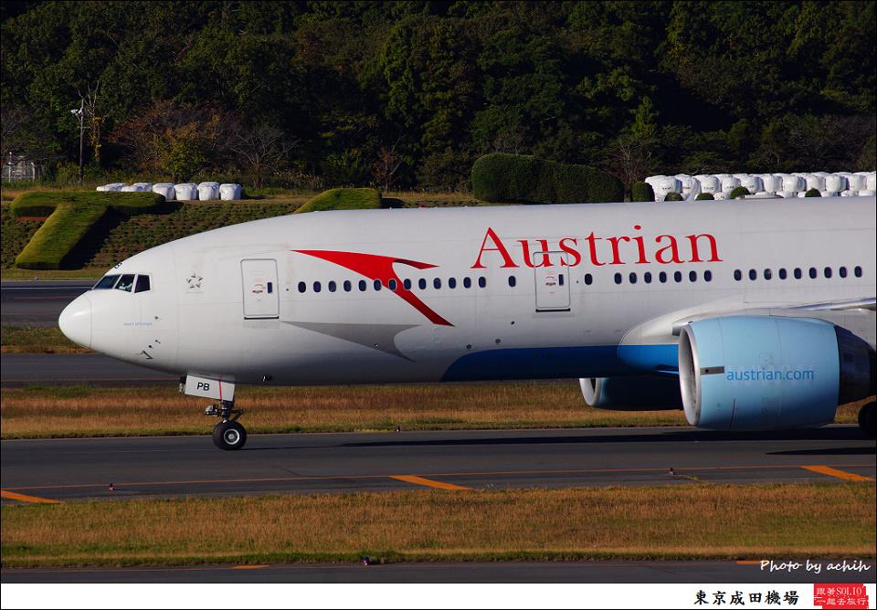 Austrian Airlines / OE-LPB / Tokyo - Narita International
